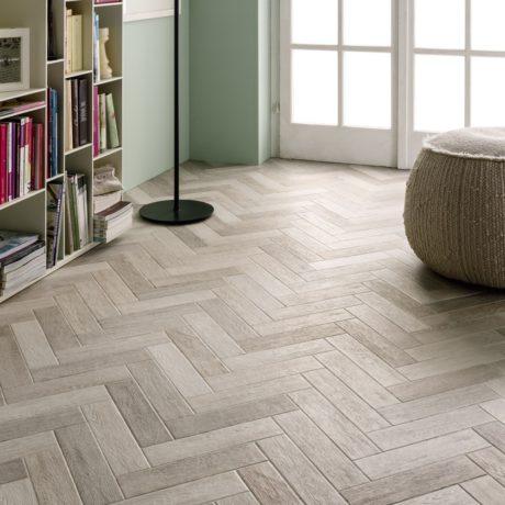 White-authentic-herringbone-laminated-floors
